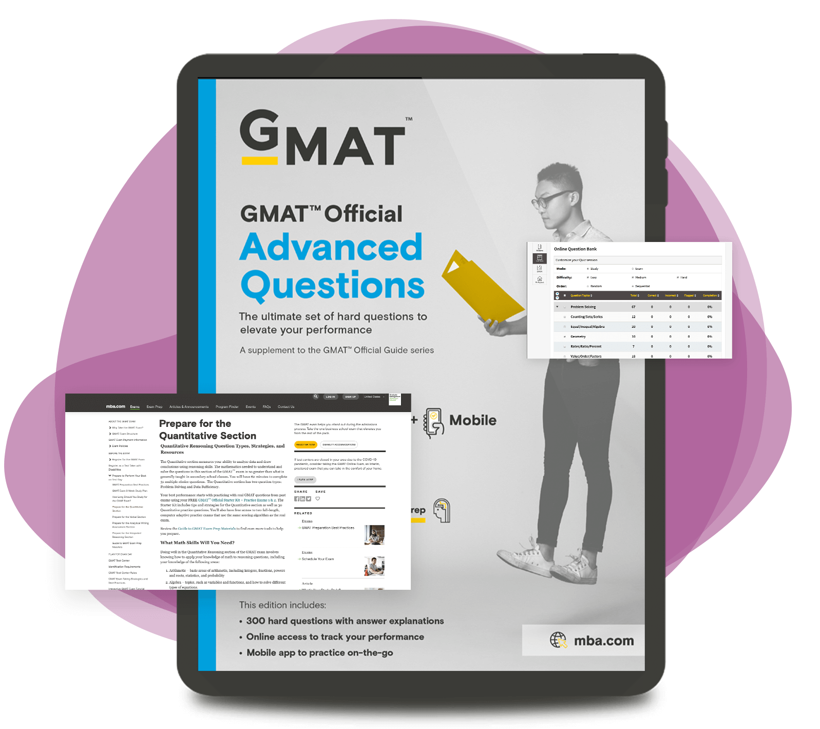 Aim for a High Score: GMAT Official Advanced Questions