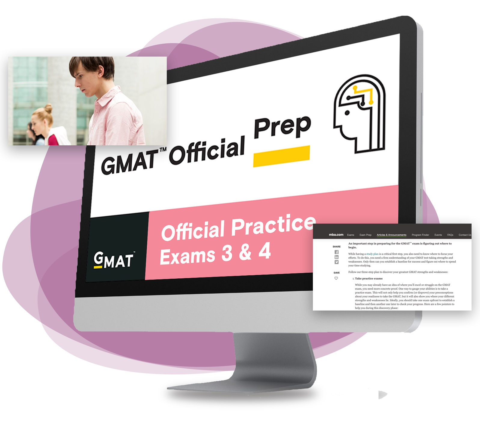 Simulate Test-Taking: GMAT Official Practice Exams